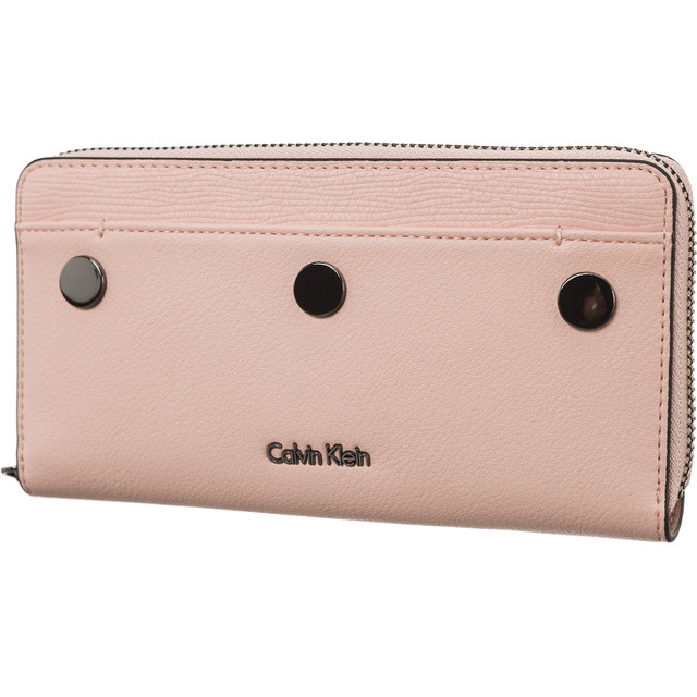 Calvin Klein Le4 Large Ziparound Púder Női Pénztárca