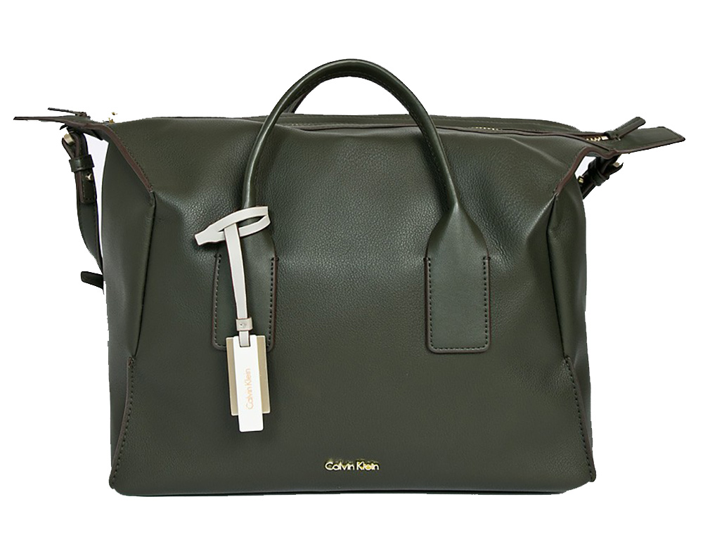 Calvin Klein Milli3 Duffle  Sötét zöld Női Válltáska