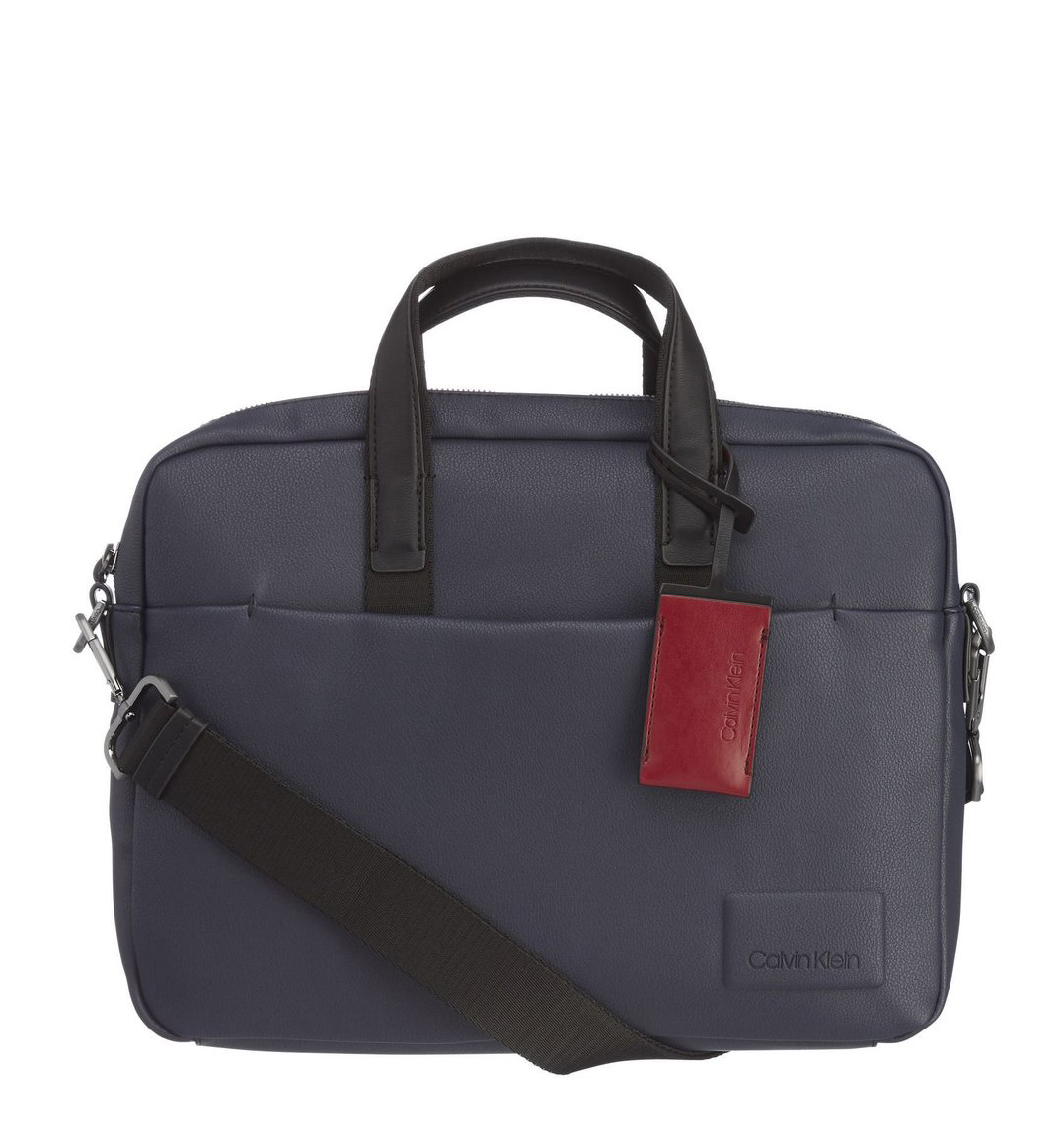 fef61c5e81 Calvin Klein Task Force 1 Gusset Kék Férfi Laptoptáska | bagsnmore.hu