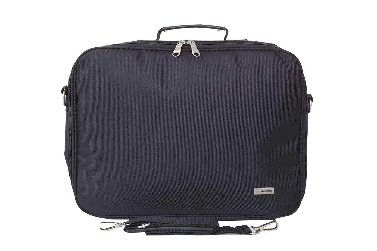 David Jones Cm026 Fekete Férfi Laptop Táska 6bc5cca287