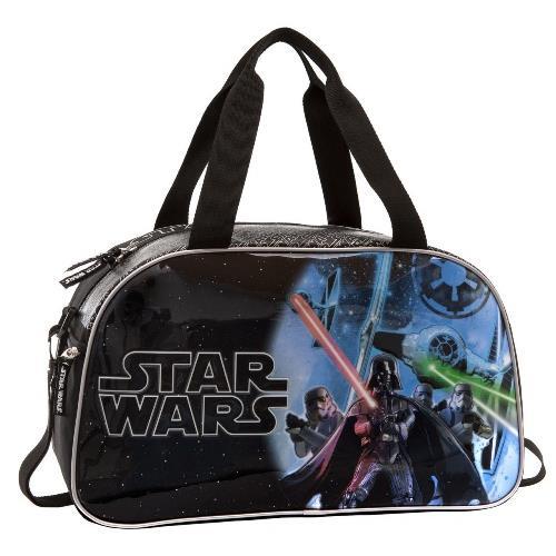 665e2dda7a204 Disney Star Wars Fekete Gyerek Sporttáska   bagsnmore.hu