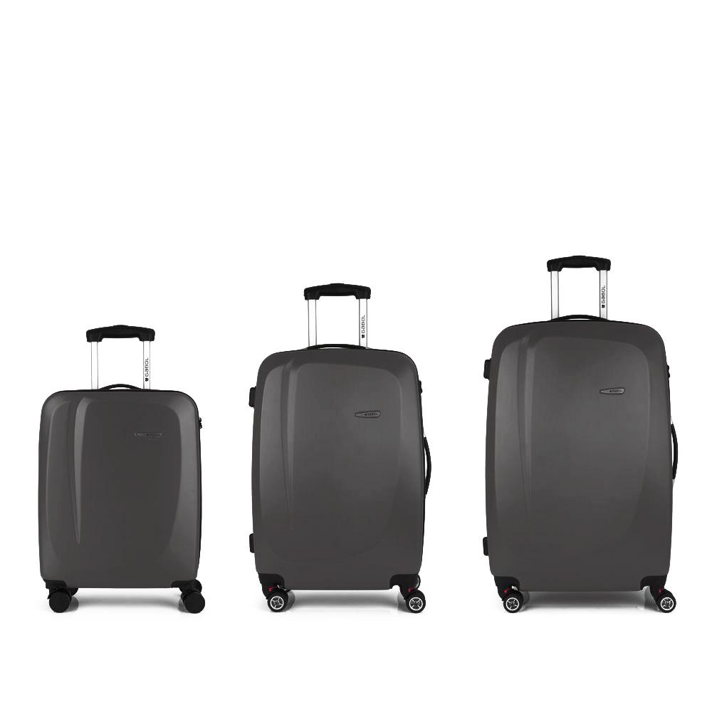 Gabol Line Szürke Bőrönd Szett