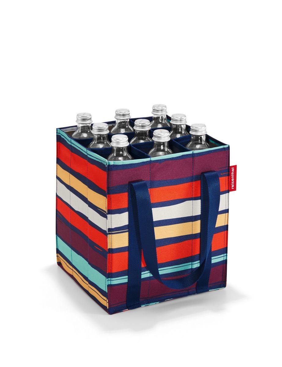 Reisenthel Bottlebag Artist Stripes Sötét kék Női Bevásárlótáska... af8f7a4a98
