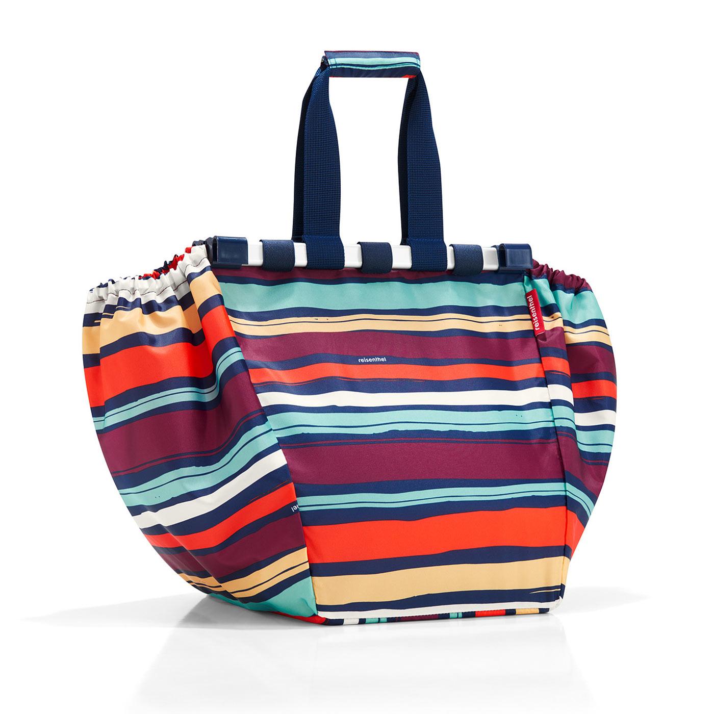 Reisenthel Easyshoppingbag Artist Stripes Sötét kék Női Bevásárlótáska f7eb8ded66
