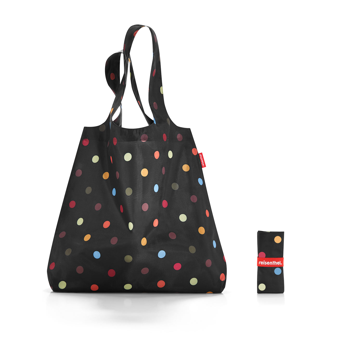 Reisenthel Mini Maxi Shopper Fekete Pöttyös Bevásárlótáska ... 6c82efe79e