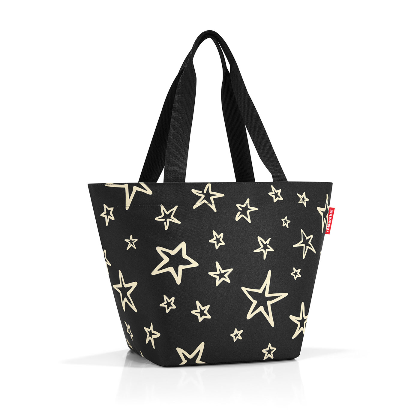 Reisenthel Shopper M stars Fekete Unisex Bevásárlótáska 95a4eb0f84