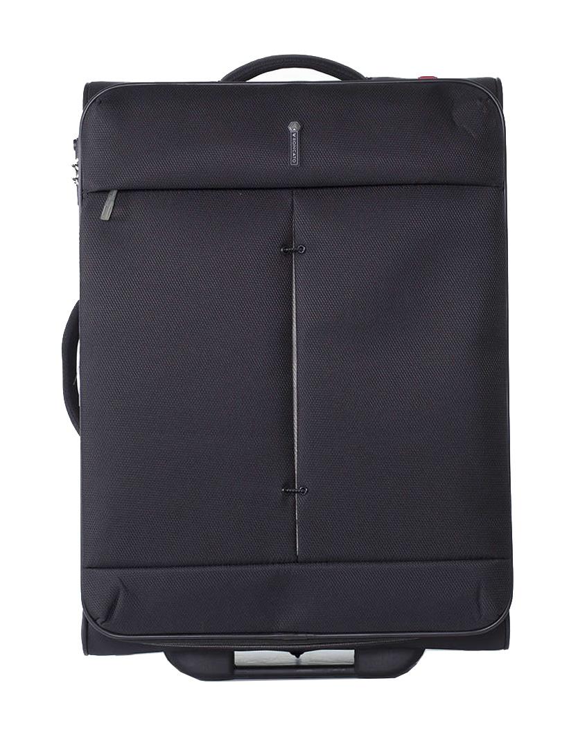 Roncato Ironik M Fekete Unisex Bőrönd