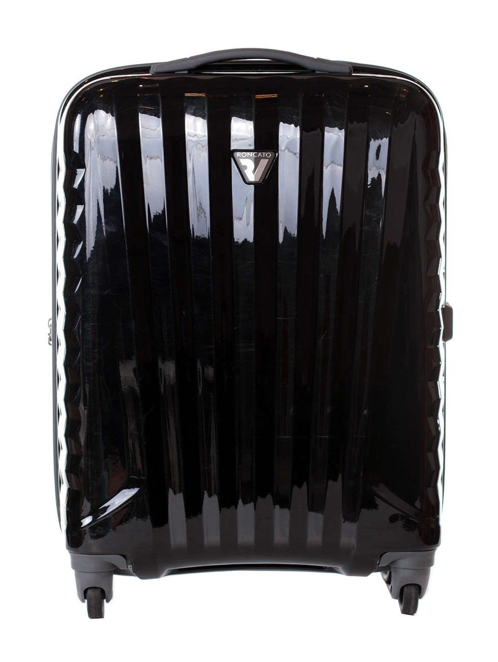 Roncato UNO S Fekete Unisex Kabinbőrönd