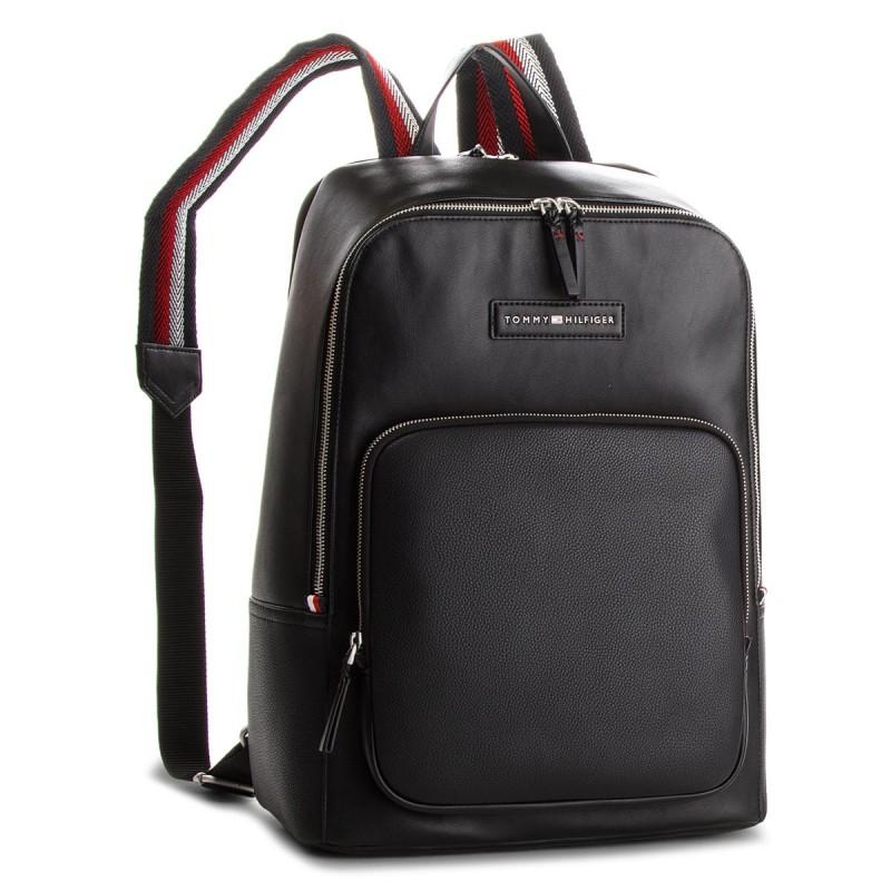 3672a544d6 Tommy Hilfiger Corporate Mix Backpack Fekete Férfi Hátizsák