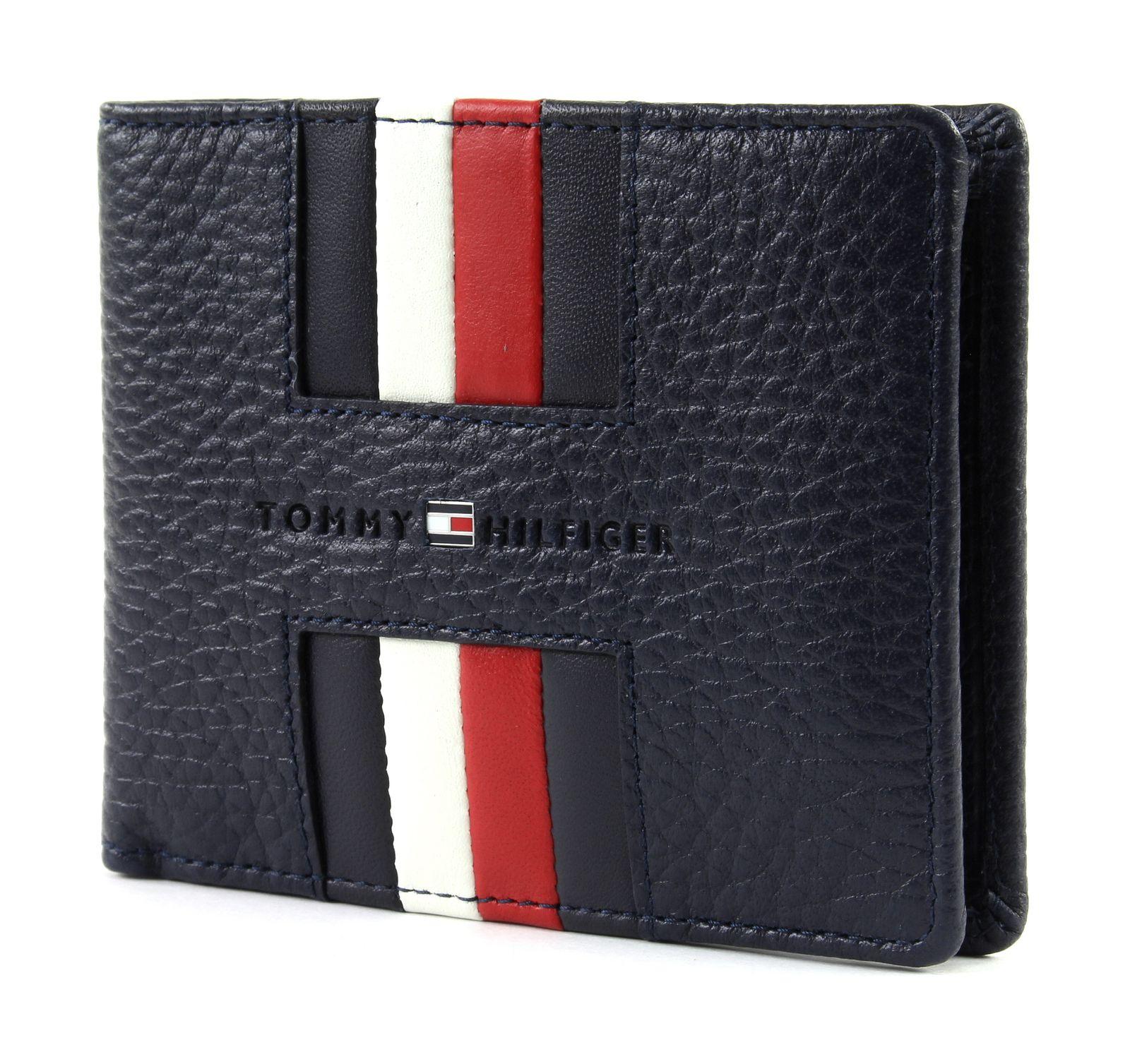 9114954147 Tommy Hilfiger Heritage Mini CC Wal Kék Férfi Pénztárca