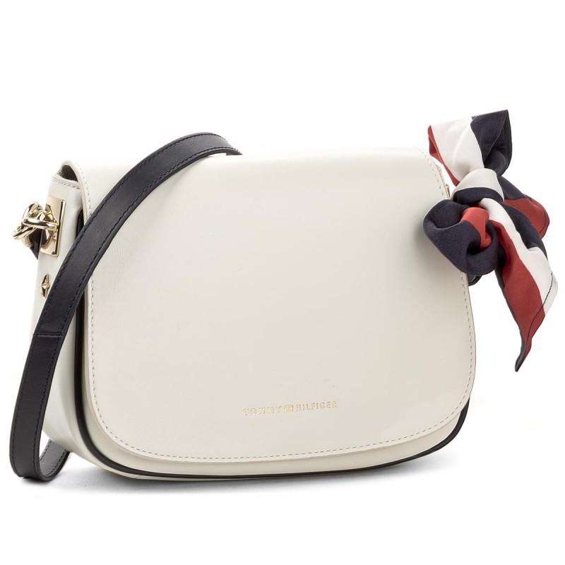 Tommy Hilfiger Iconic Foulard Leather Fehér Női Divattáska eff8a08dca