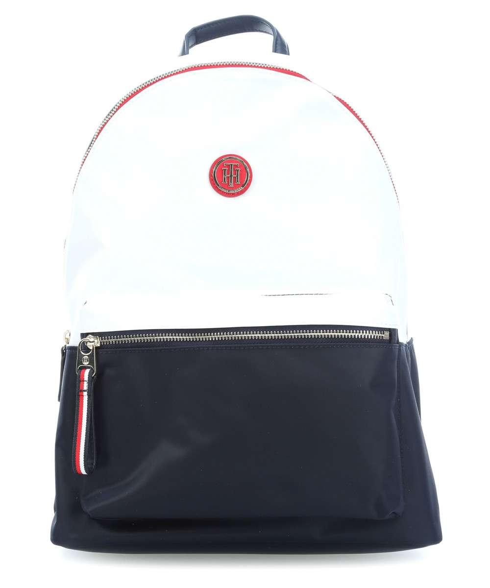 1b6179f775 Tommy Hilfiger Poppy Backpack CB fehér Kék Női Hátizsák