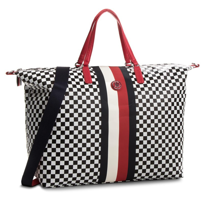 d82066d246 Tommy Hilfiger Poppy Weekender Checker board kockás Multicolor Női  Utazótáska