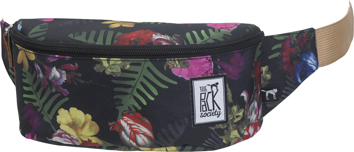 The Pack Society Bum bag multicolor old masters Fekete Női Övtáska 4658ffcbd2