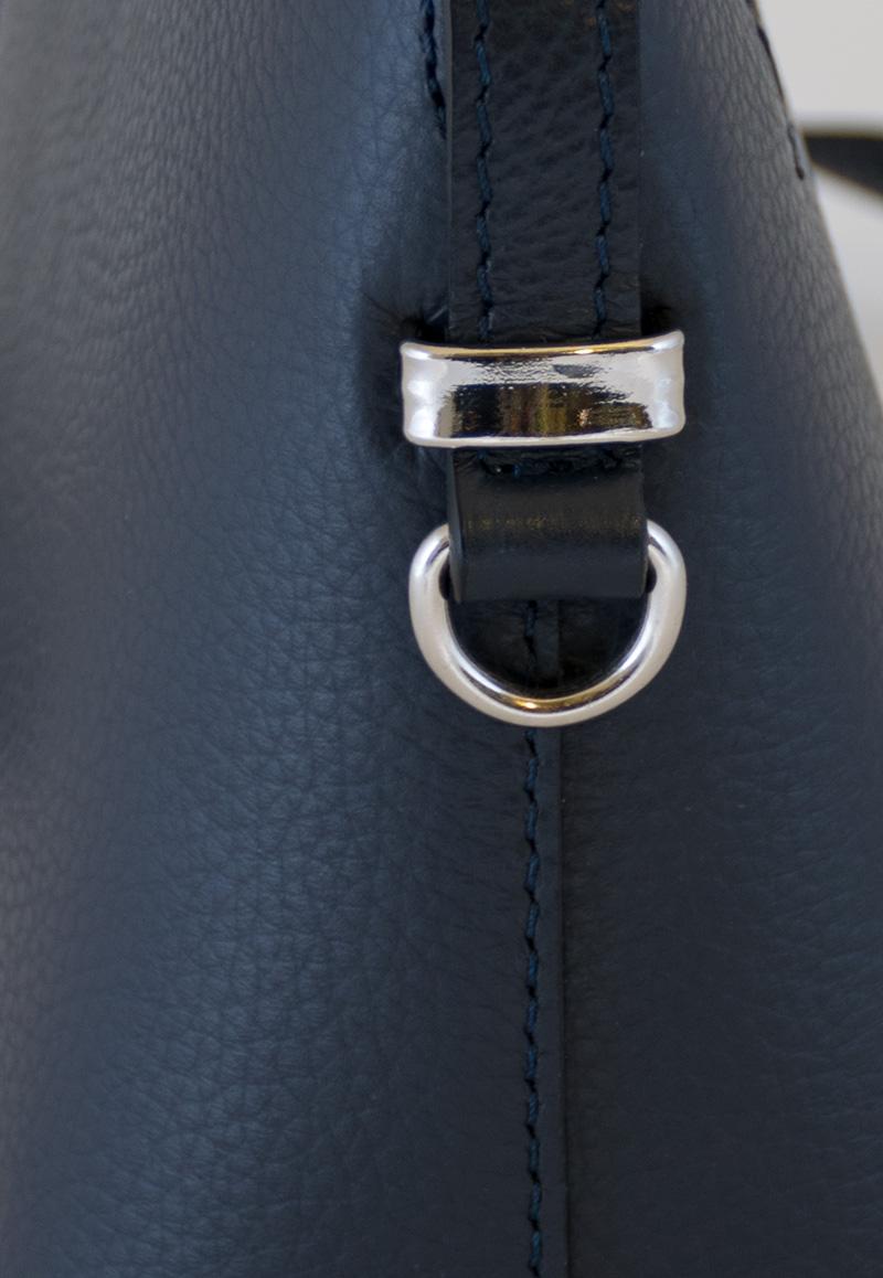 b58d88846abe Bags and more Milla Sötét kék Női Bőr Oldaltáska | bagsnmore.hu