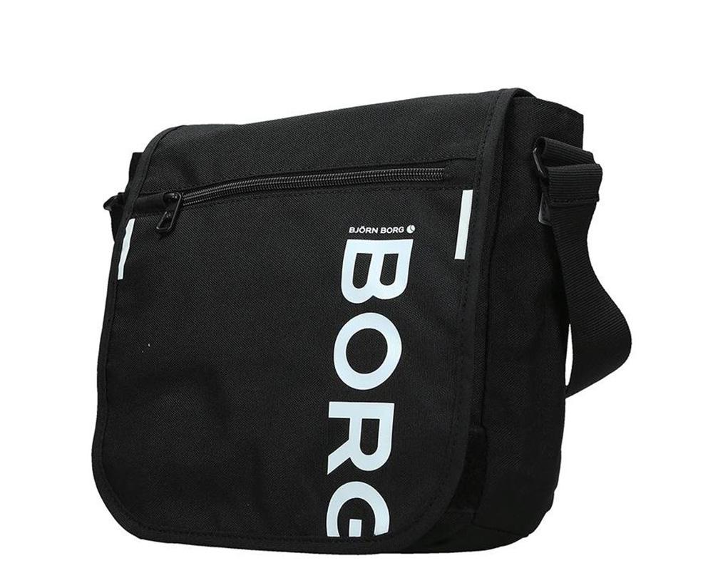 Björn Borg Core 7011-01 Messenger Fekete Férfi Oldaltáska b6b027ba62
