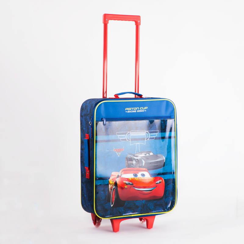 71e1c669524a Disney RACING SERIES Kék Gyerek Kabinbőrönd